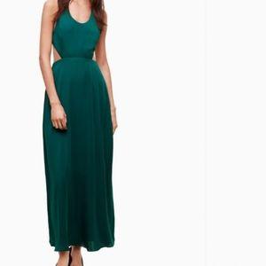 NWOT Aritzia Taula Peekaboo Maxi Dress XS